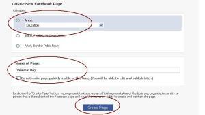 Meletakkan widget untuk fan facebook.